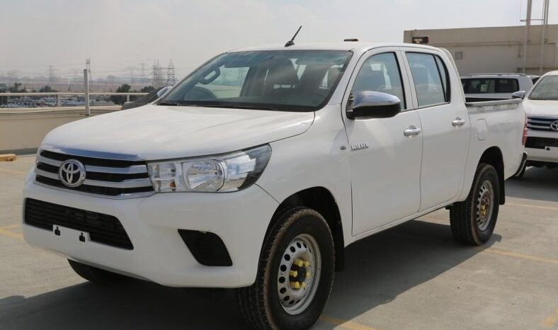 2017 Toyota Hilux 4×2 DOUBLE CAB full
